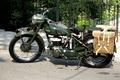 Картинка мотоцикл, военная полиция, Triumph 3HW, британский, WW2