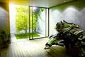 Картинка Комната, свет, зелень