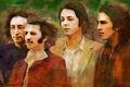 Картинка легенда, The Beatles, Ринго Старр, музыка, Джордж Харрисон, Джон Леннон, Пол Маккартни