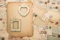 Картинка vintage, марки, рамки, почта, письма, винтаж
