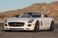 Картинка Roadster, Mercedes-Benz, передок, SLS, автомобиль, AMG, родстер