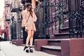 Картинка улица, девушка, город, street style