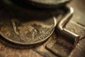 Картинка макро, деньги, монета