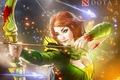 Картинка game, арт, игры, стрелы, Defense of the Ancients, девушка, Dota 2, дота 2, windranger