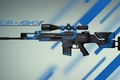 Картинка Valve, Оружие, Asiimov, Skin, Global Offensive, Workshop, Coridium, Weapon, Gun, CS:GO, Counter Strike, Steam, SCAR-20 ...