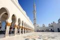 Картинка здание, Mosque, золото, temple, купола, храм, арки, вышка