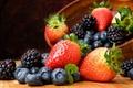 Картинка ягоды, натюрморт, фрукты, клубника