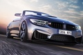 Картинка Car, Road, Speed, Front, Convertible, BMW, Sport