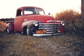Картинка rat, pickup, chevrolet, old, chevy, stance
