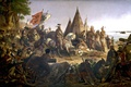 Картинка картина, 1853, painting, живопись, William H.Powell, Discovery of the Mississippi by De Soto 1541