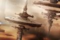 Картинка Civilization 3000 AD, полёт, космическая станция, космос