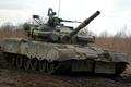 Картинка грязь, боевой, танк, Т-80