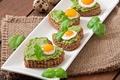 Картинка яйца, хлеб, бутерброды, зелень