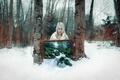 Картинка snow, winter transmissions, grove, winter, tree, cold