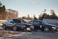 Картинка автомобиль, машины, ниссан, сильвия, Silvia, Nissan, черная, s14, black, авто, auto, S13, сars