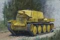Картинка Panzerkampfwagen 38(t), была, штурмового, штурмовое, находились, 38(T)m.7.5cm KW.K, арт, немецкое, подчинении, дорога, орудия, которые, 75-мм, ...