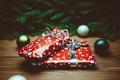 Картинка Xmas, Новый Год, ель, подарок, Merry, упаковка, New Year, Christmas, 2016, шары, Рождество