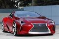 Картинка Lexus, красная, LF-LC Sports Coupe Concept, машина