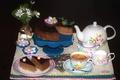 Картинка торт, выпечка, шоколад, декор, чизкейк, кофе