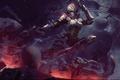 Картинка капюшон, Diablo 3, арбалет, Demon hunter