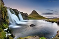 Картинка гора, вулкан, Исландия, Kirkjufell, By معضاد