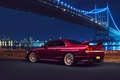 Картинка New York, Car, Skyline, NYC, Nigth, Bridge, Sport, R33, Nissan, Rear, Chery