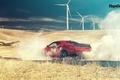 Картинка Top Gear, Dodge, Challenger, Red, Smoke, Hellcat, SRT, Rear, 2015