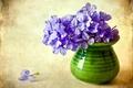 Картинка ваза, флоксы, цветы, цветок, фиолетовый