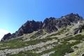 Картинка peak, slovakia, snow, mountain, high tatras, tatry, tatra, hill, sky, nature