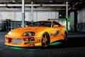 Картинка Toyota, supra, тюнинг, tuning, fast and the furious, форсаж, ораньжевый