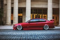 Картинка red, тюнинг, tuning, красная, E36, BMW, бмв