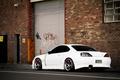 Картинка S15, Silvia, Nissan, white, rear, VOLK