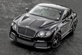 Картинка Bentley, Front, Black, Continental, ONYX, Tuning