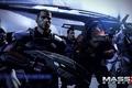 "Картинка Шепард, Mass Effect 3, Нормандия, Гаррус Вакариан, Урднот Рекс, Миранда Лоусон, DLC ""Citadel"", Кайден Аленко, ..."