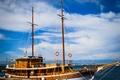 Картинка Croatia, ship, sky, blue, sea