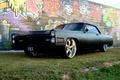 Картинка Pontiac, tuning, стена, граффити