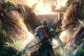 Картинка Аватар, avatar, битва, лес