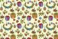Картинка праздник, подарок, фон, рождество, Christmas, текстура, Новый год, шишка