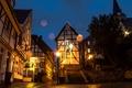 Картинка Германия, фонари, ночь, Эссен, Essen