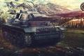 Картинка Игры, Games, World of Tanks, Wargaming Net, Panzer III, FuriousGFX