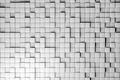 Картинка рендер, hq wallpaper, квадраты, текстура, стена