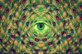 Картинка LSD, глаз, арт, абстракция