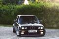 Картинка Coupe, E30, кусты, бмв, 3 Series, black, чёрный, BMW