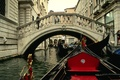 Картинка мост, Венеция, канал, гондола