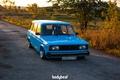 Картинка универсал, ВАЗ-2104, голубая, четвёрка, Жигули, Россия, Тюнинг, Rus, bodybeat