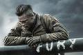 Картинка Brad Pitt, Fury, война, фильм, ярость