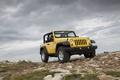 Картинка Jeep wrangler 2011, горы, жёлтый, джип, внедорожник