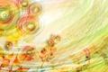 Картинка лето, цветы, фон, абстракция