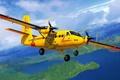 Картинка art, airplane, painting, aviation, DHC-6 Twin Otter