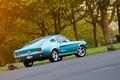 Картинка Mustang, Ford, багажник, 1967, Fastback